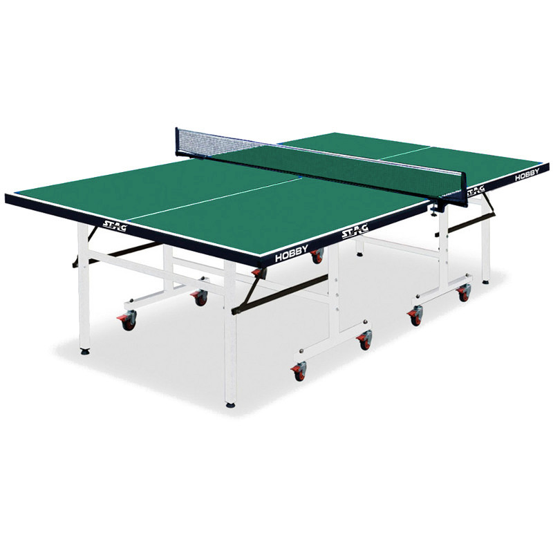 ΤΡΑΠΕΖΙ PING PONG STAG HOBBY GREEN INDOOR 42851