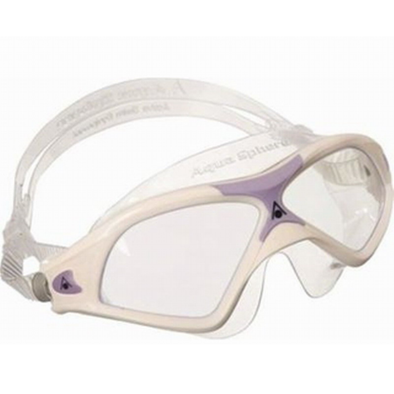 ΓΥΑΛΑΚΙΑ ΚΟΛΥΜΒΗΣΗΣ AQUA SPHERE SEAL XP 2 LADY CLEAR LENS WHITE/LEVANDER