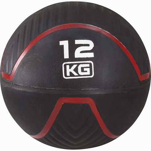 MEDICINE WALL BALL RUBBER 12kg AMILA 84745