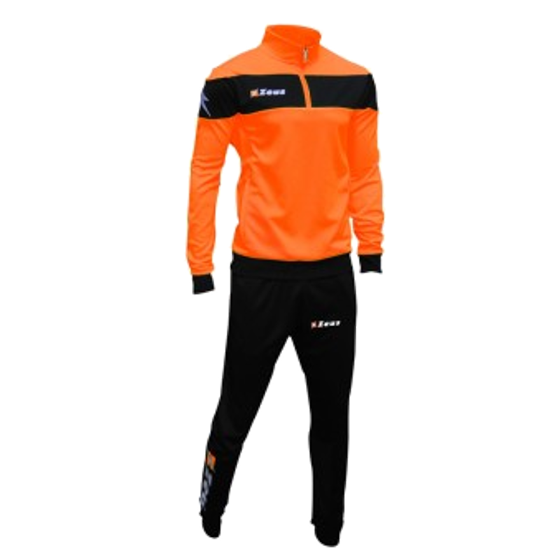 ΦΟΡΜΑ ΠΡΟΠΟΝΗΣΗΣ ZEUS TUTA MARTE BLACK/ORANGE FLUO
