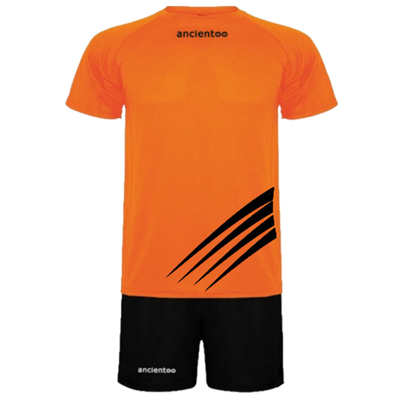 ΕΜΦΑΝΙΣΗ ΠΟΔΟΣΦΑΙΡΟΥ ancientoo SET CHAMPION ORANGE FLUO/BLACK