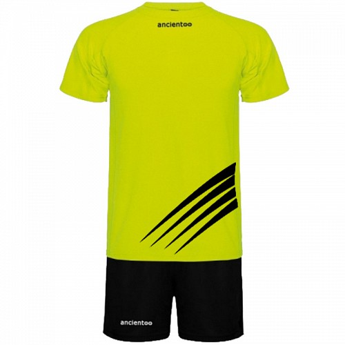 ΕΜΦΑΝΙΣΗ ΠΟΔΟΣΦΑΙΡΟΥ ancientoo SET CHAMPION YELLOW FLUO/BLACK
