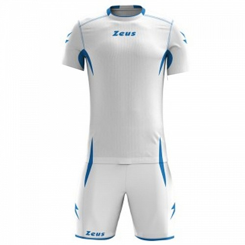 ΕΜΦΑΝΙΣΗ ΠΟΔΟΣΦΑΙΡΟΥ ZEUS SET SPARTA SHORT SLEEVE WHITE/ROYAL