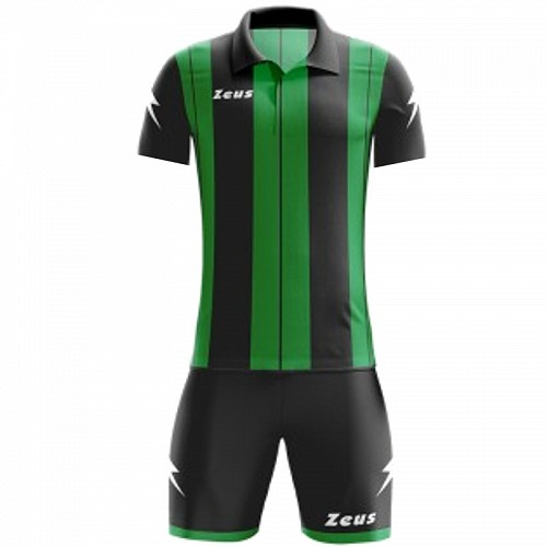 ΕΜΦΑΝΙΣΗ ΠΟΔΟΣΦΑΙΡΟΥ ZEUS SET PITAGORA SHORT SLEEVE BLACK/GREEN