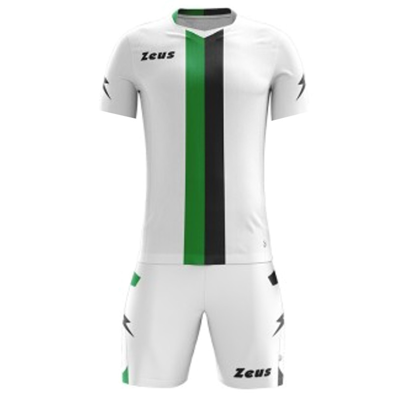 ΕΜΦΑΝΙΣΗ ΠΟΔΟΣΦΑΙΡΟΥ ZEUS SET B-NARIO SHORT SLEEVE GREEN/BLACK