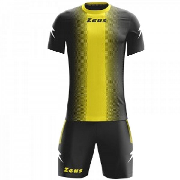 ΕΜΦΑΝΙΣΗ ΠΟΔΟΣΦΑΙΡΟΥ ZEUS SET ERCOLE SHORT SLEEVE BLACK/YELLOW