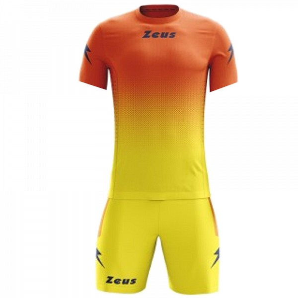 ΕΜΦΑΝΙΣΗ ΠΟΔΟΣΦΑΙΡΟΥ ZEUS SET EROS SHORT SLEEVE ORANGE/YELLOW