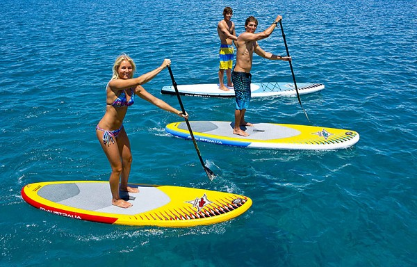Stand-Up Paddle (SUP) Όσα πρέπει να γνωρίζετε