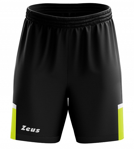 Σορτς Βερμούδα Zeus Vesuvio Black/Yellow Fluo