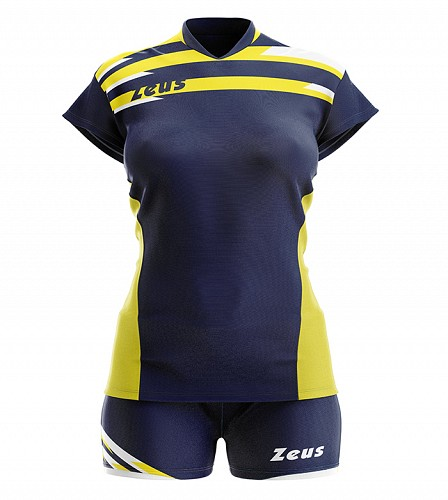 ΕΜΦΑΝΙΣΗ ΒΟΛΛΕΫ ZEUS SET DONNA ITACA NAVY/YELLOW