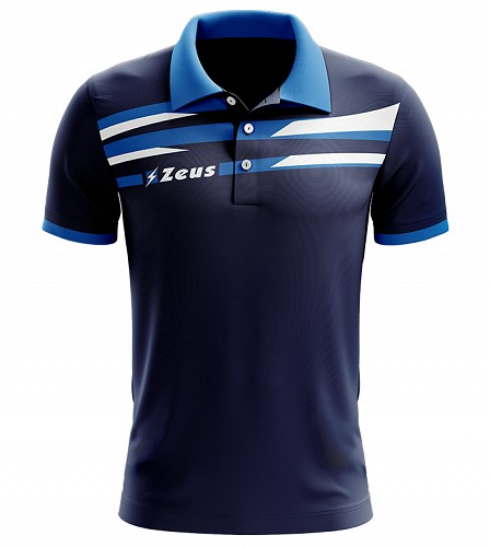 Μπλουζάκι Polo Zeus Itaca Blue/Royal