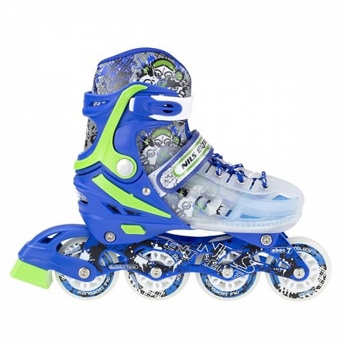 In-Line Skates Nils Extreme NJ1812A No29-33 Blue/Green