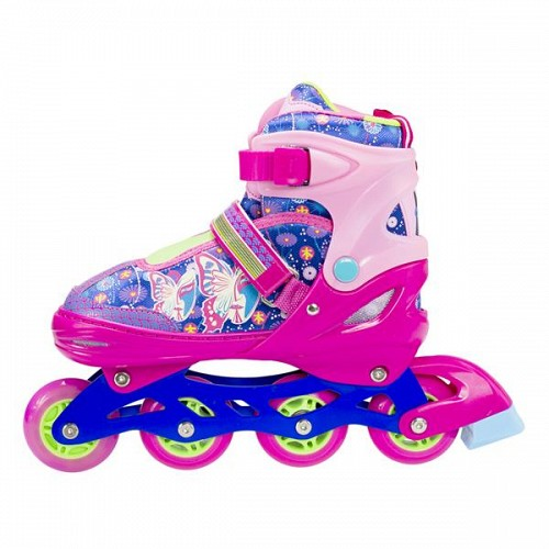 In-Line Skates Nils Extreme NJ4605A LED 34-37 Pink