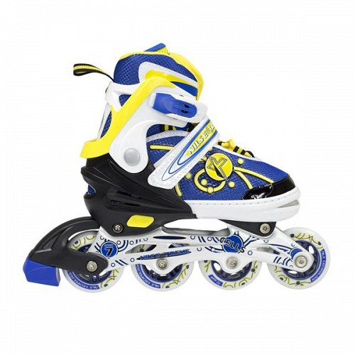 In-Line Skates Nils Extreme NA1152A No35-38 Blue/Yellow