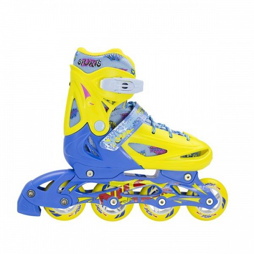 In-Line Skates Nils Extreme NJ1905A No35-38 Yellow