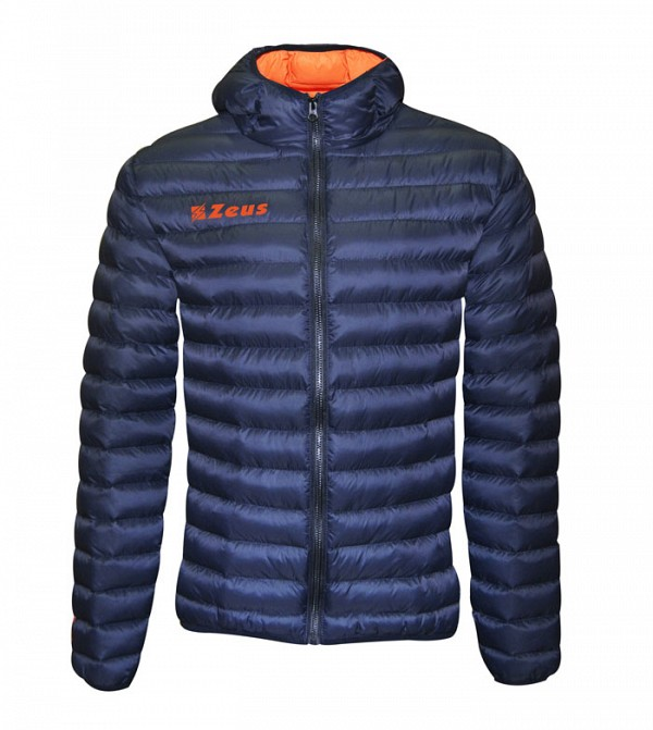 Μπουφάν Zeus Hercolano Blue/Orange Fluo