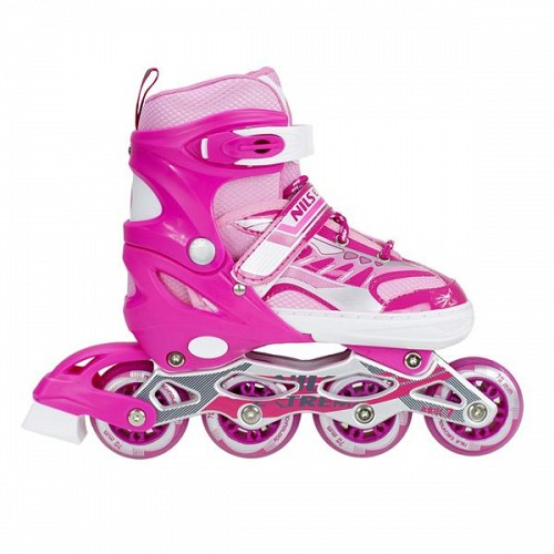 In-Line Skates Nils Extreme NJ1828A No39-42 Pink