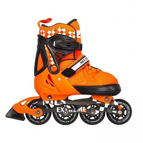 Roller Skates Ρυθμιζόμενα Nils Extreme NA 13911 A No31-34 Πορτοκαλί
