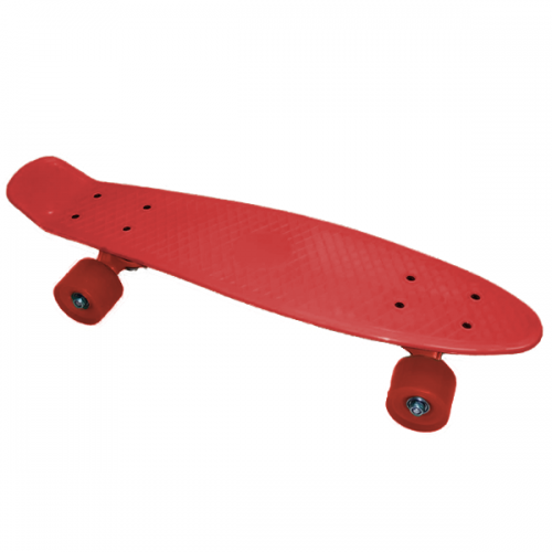 Pennyboard JollyWheelz Rainbow 14386-R Red