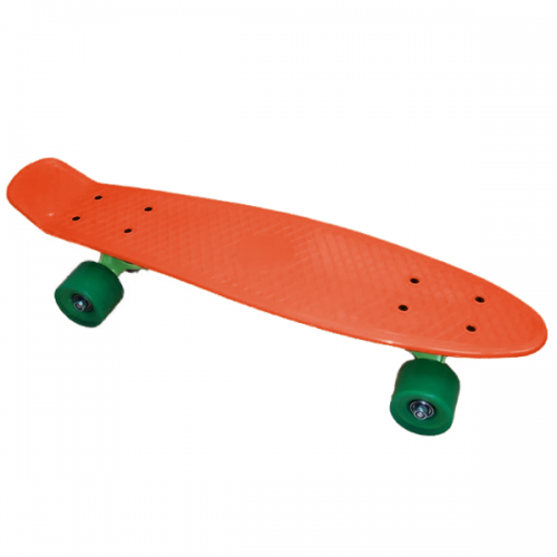 Pennyboard JollyWheelz Rainbow 14386-OR Orange Fluo