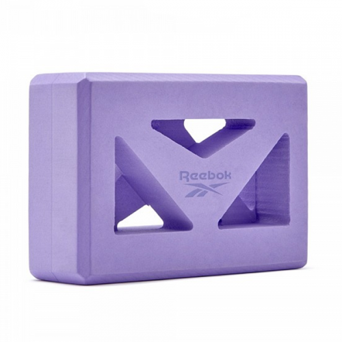 Shaped Yoga Block Μωβ Reebok RAYG-10035PL