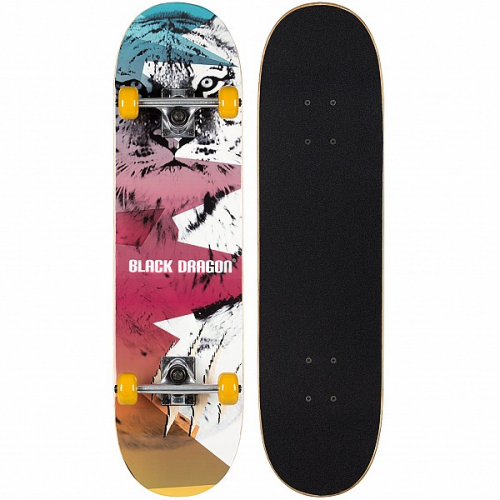 Skateboard Black Dragon Street Natives 52NS-WGF