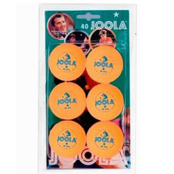 ΜΠΑΛΑΚΙΑ PING PONG JOOLA ROSSI* 6pcs ORANGE