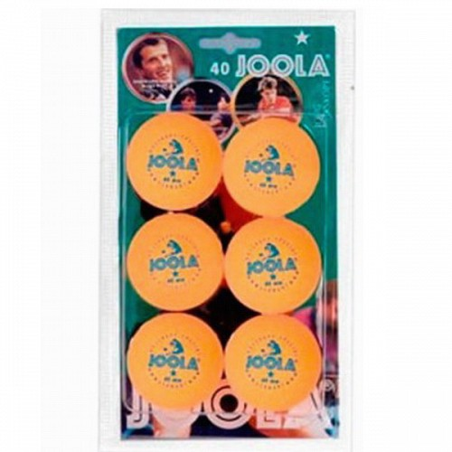 ΜΠΑΛΑΚΙΑ PING PONG JOOLA ROSSI* 40+ 6pcs ORANGE