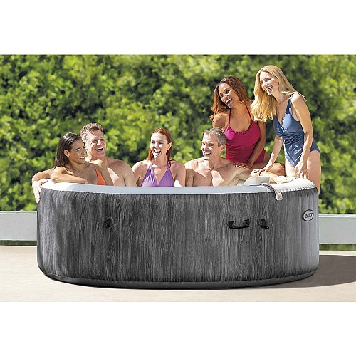 Φουσκωτό Spa Intex Greywood Deluxe Bubble Massage 6 Ατόμων 28442