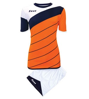 ΕΜΦΑΝΙΣΗ ΒΟΛΛΕΫ ZEUS SET LYBRA UOMO ORANGE/BLUE