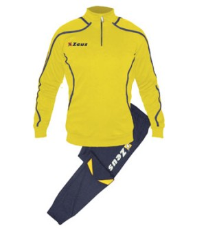 ΦΟΡΜΑ ΠΡΟΠΟΝΗΣΗΣ ZEUS TUTA TRAINING FAUNO BLUE/YELLOW