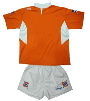 ΕΜΦΑΝΙΣΗ RUGBY ZEUS SET MAX ORANGE/WHITE