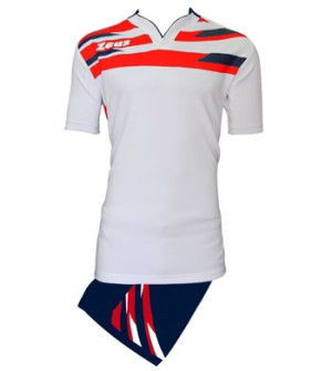 ΕΜΦΑΝΙΣΗ RUGBY ZEUS SET EAGLE WHITE/RED