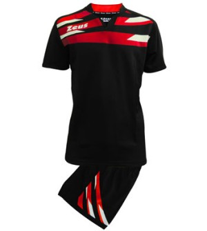 ΕΜΦΑΝΙΣΗ RUGBY ZEUS SET EAGLE BLACK/RED