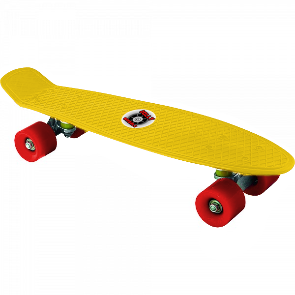 Pennyboard Jolly Wheelz Rainbow 14386-Y Yellow